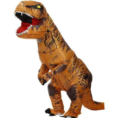 Zi Xi e Zi Qi T-Rex Inflatable Dinosaur Mascot Party Costume Fancy Dress Cosplay Outfit Adult